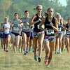 Tribune-Star/Jim Avelis<br /> Wire to wire: Chanli Mundy led the second girl's race from start to finish.