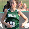 Tribune-Star/Jim Avelis<br /> Viking runner: Sarah Hudson was West Vigo's top finisher in the 1A-3a girl's race.
