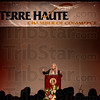 Tribune-Star/Jim Avelis<br /> Insight: Jill Bolte taylor was the keynote at the Terre Haute Chamber of Commerce dinner Wednesday night.