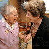Tribune-Star/Jim Avelis<br /> Friends: LaDonna Unger, a dialysis patient of 16 years, shares a laugh with longtime friend Sue Edwards.