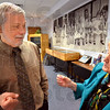 Author: Edwin Black coverses with Eva Kor Wednesday at the CANDLES Museum.