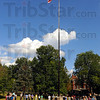 Tribune-Star/Jim Avelis<br /> Remembering: A 9/11 memorial service with readings of sacred writigs was held Monday afternoon on the campus of St. Mary-of-the-Woods College.