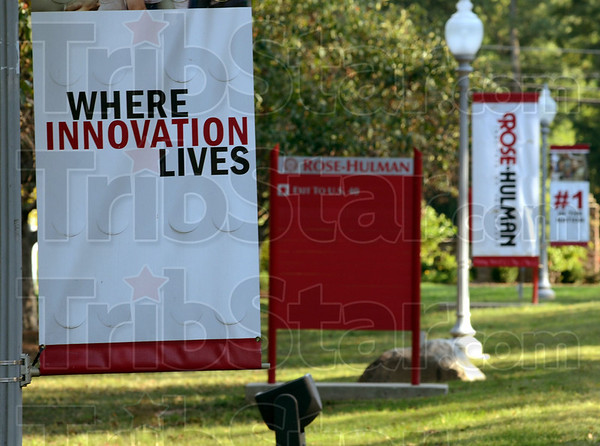 Tribune-Star/Jim Avelis<br /> Again: Rose-Hulman Institute of Technology has again been named the best undergraduate engineering school in the countryby u.S. News and World Report magazine.