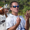Count: Union football coach Todd Gambill makes a point during practice as the team prepares for the next game.