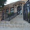 Tribune-Star/Jim Avelis<br /> Welcome: Wrought iron handrails lead visitors to the front doors of the Rockville library.