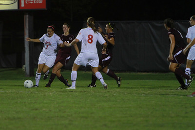 Ladies soccer vs Winthrop; September 27, 2011.