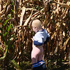 2011-09-18 - Picking Pumpkins on the farm - Micah peeing in the corn (2)