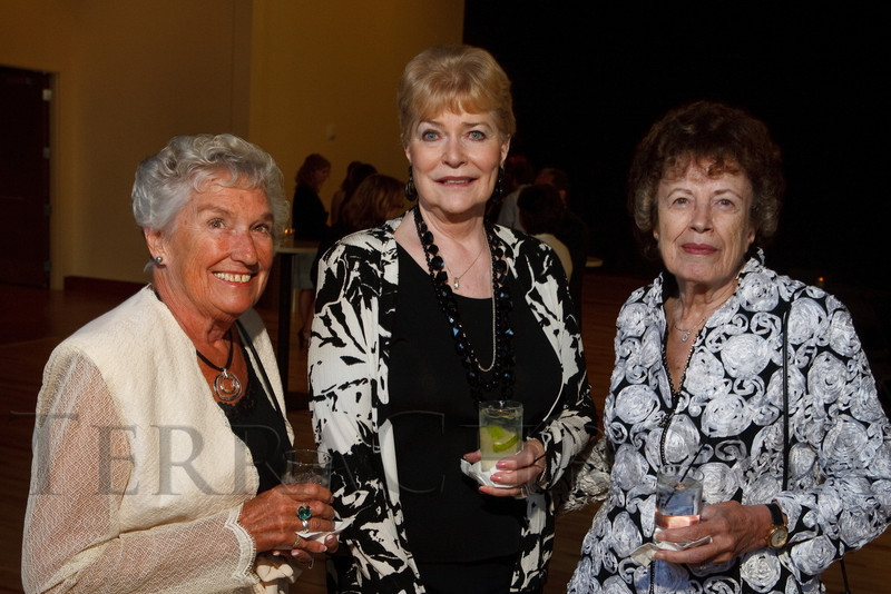 (Denver, Colorado, Sept. 10, 2011)<br /> Shari Donnelly, Sue Thomas, and Shirley Simonson.  Zarlengo Foundation event at the Ellie Caulkins Opera House in Denver, Colorado, on Saturday, Sept. 10, 2011.<br /> STEVE PETERSON