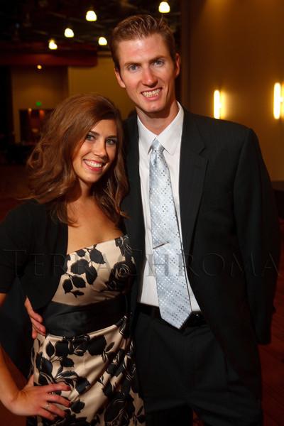 (Denver, Colorado, Sept. 10, 2011)<br /> Meg and Andrew Schwiesow.  Zarlengo Foundation event at the Ellie Caulkins Opera House in Denver, Colorado, on Saturday, Sept. 10, 2011.<br /> STEVE PETERSON