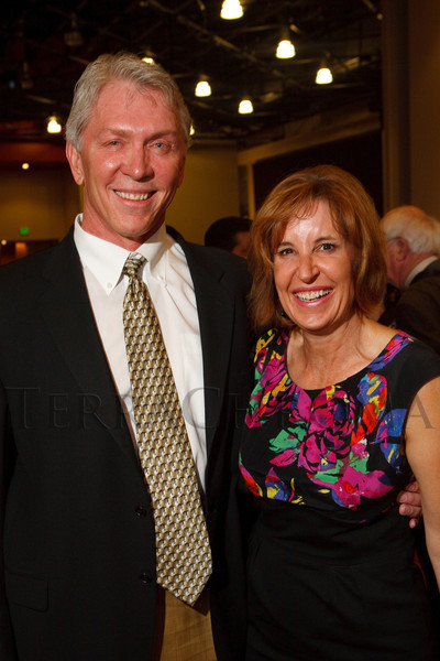 (Denver, Colorado, Sept. 10, 2011)<br /> Rick and Lisa Schaler.  Zarlengo Foundation event at the Ellie Caulkins Opera House in Denver, Colorado, on Saturday, Sept. 10, 2011.<br /> STEVE PETERSON