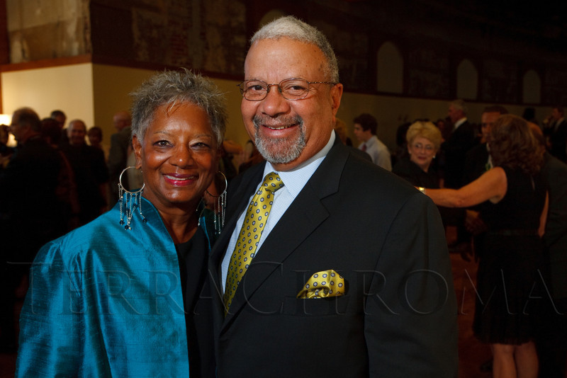 (Denver, Colorado, Sept. 10, 2011)<br /> Faye and Reggie Washington.  Zarlengo Foundation event at the Ellie Caulkins Opera House in Denver, Colorado, on Saturday, Sept. 10, 2011.<br /> STEVE PETERSON