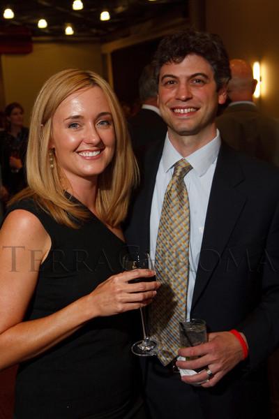 (Denver, Colorado, Sept. 10, 2011)<br /> Dayna and Jeff Morain.  Zarlengo Foundation event at the Ellie Caulkins Opera House in Denver, Colorado, on Saturday, Sept. 10, 2011.<br /> STEVE PETERSON