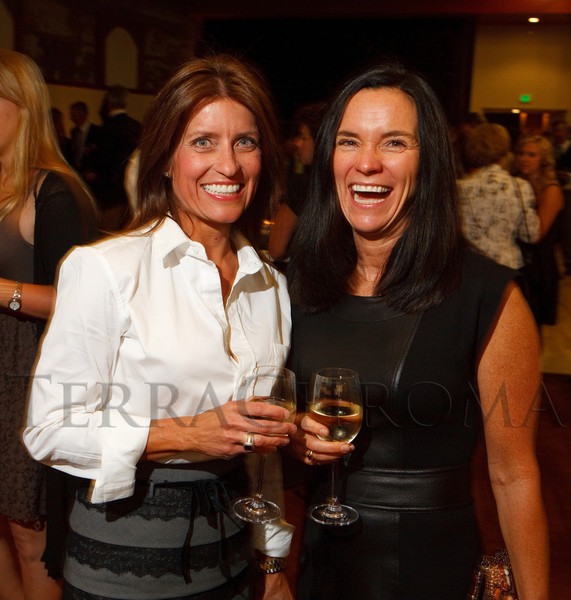 (Denver, Colorado, Sept. 10, 2011)<br /> Cristee Offerdahl and Wendy Cook.  Zarlengo Foundation event at the Ellie Caulkins Opera House in Denver, Colorado, on Saturday, Sept. 10, 2011.<br /> STEVE PETERSON