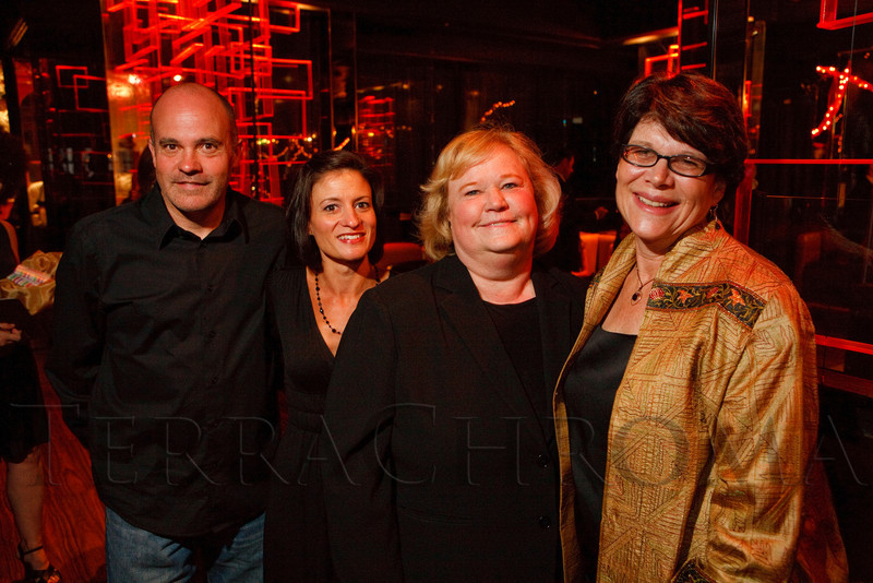 "(Denver, Colorado, Sept. 17, 2011)<br /> Bill Conrad, Erika Nelson, Dianna Kunz, and Lindi Stinton.  The Eighth Annual Volunteers of America Fashion Show, ""The Sweet Life,"" at Suite Two Hundred in Denver, Colorado, on Saturday, Sept. 17, 2011.<br /> STEVE PETERSON"