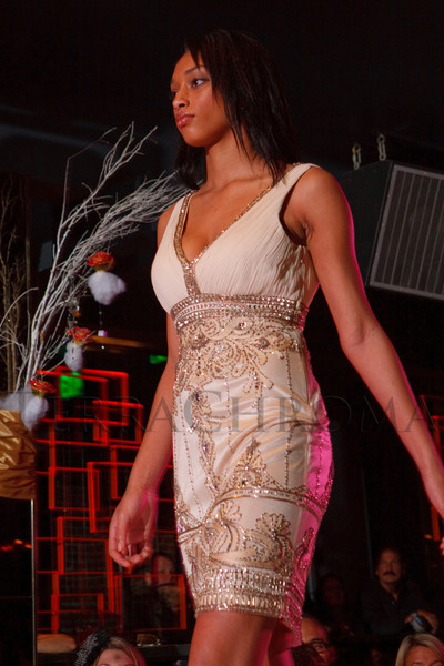 """(Denver, Colorado, Sept. 17, 2011)<br /> Corissa in a Sue Wong beaded cocktail dress.  The Eighth Annual Volunteers of America Fashion Show, """"The Sweet Life,"""" at Suite Two Hundred in Denver, Colorado, on Saturday, Sept. 17, 2011.<br /> STEVE PETERSON"""