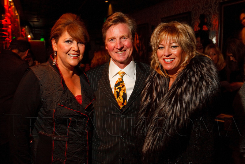 "(Denver, Colorado, Sept. 17, 2011)<br /> Juanita Chacon with Brent and Denise Snyder.  The Eighth Annual Volunteers of America Fashion Show, ""The Sweet Life,"" at Suite Two Hundred in Denver, Colorado, on Saturday, Sept. 17, 2011.<br /> STEVE PETERSON"