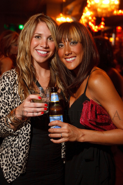 "(Denver, Colorado, Sept. 17, 2011)<br /> Kara Bakarich and Annette Greene.  The Eighth Annual Volunteers of America Fashion Show, ""The Sweet Life,"" at Suite Two Hundred in Denver, Colorado, on Saturday, Sept. 17, 2011.<br /> STEVE PETERSON"