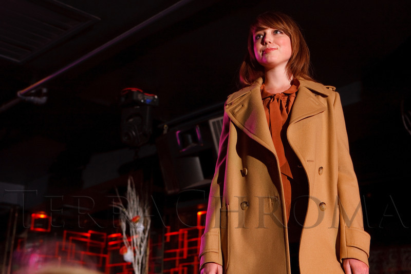"(Denver, Colorado, Sept. 17, 2011)<br /> Annabelle in a See By Chloé Camel Peacoat and a See By Chloé blouse.  The Eighth Annual Volunteers of America Fashion Show, ""The Sweet Life,"" at Suite Two Hundred in Denver, Colorado, on Saturday, Sept. 17, 2011.<br /> STEVE PETERSON"