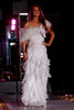 """(Denver, Colorado, Sept. 17, 2011)<br /> Whitney in a Sue Wong Bridal gown and Marabou capelet.  The Eighth Annual Volunteers of America Fashion Show, """"The Sweet Life,"""" at Suite Two Hundred in Denver, Colorado, on Saturday, Sept. 17, 2011.<br /> STEVE PETERSON"""