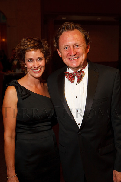 (Denver, Colorado, Sept. 30, 2011)<br /> Leanna Clark and Doug Jackson. The 10th Annual Diplomats Ball: A Celebration of Ping Pong Diplomacy, an annual fundraiser for the Institute of International Education Rocky Mountain Regional Center, at Magness Arena, University of Denver, in Denver, Colorado, on Friday, Sept. 30, 2011.<br /> STEVE PETERSON