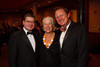 (Denver, Colorado, Sept. 30, 2011)<br /> Lucky Vidmar (Hon. Consul of Slovenia, Frieda Sanidas Leason (Hon. Consul Emeritus of France), and Doug Jackson (Project C.U.R.E. CEO).  The 10th Annual Diplomats Ball: A Celebration of Ping Pong Diplomacy, an annual fundraiser for the Institute of International Education Rocky Mountain Regional Center, at Magness Arena, University of Denver, in Denver, Colorado, on Friday, Sept. 30, 2011.<br /> STEVE PETERSON