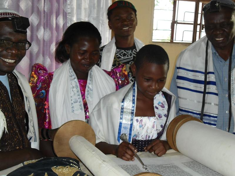 Devorah's Bat Mitzvah in Uganda - edited