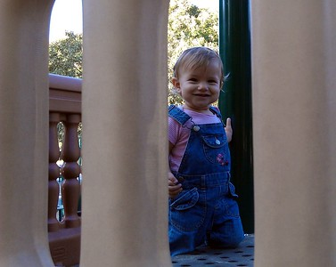 Shai at the playground