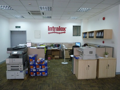 Intralox production facility in Shanghai.