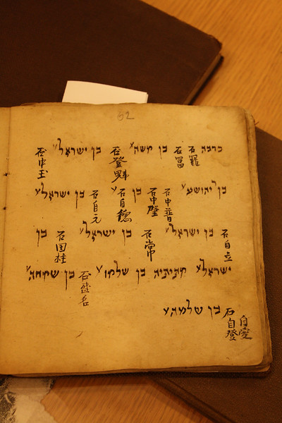 A rare book from Kaifeng Synagogue, 15th or 16th Century