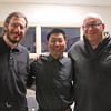 Shi Lei with Michael and Stuart Goller in Cincinnati