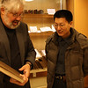 Dr. David Gilner with Shi Lei
