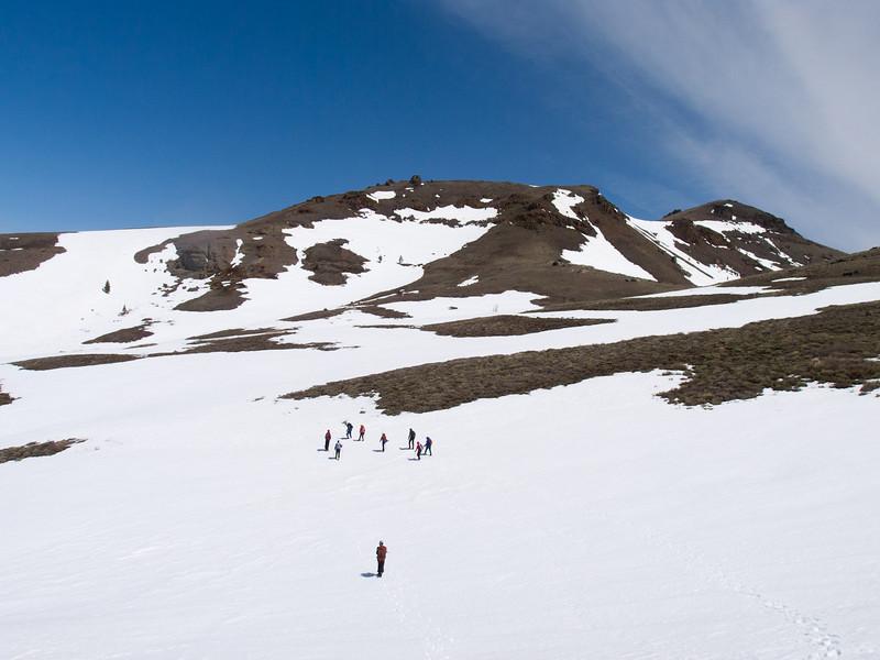 Off to Red Lake Peak