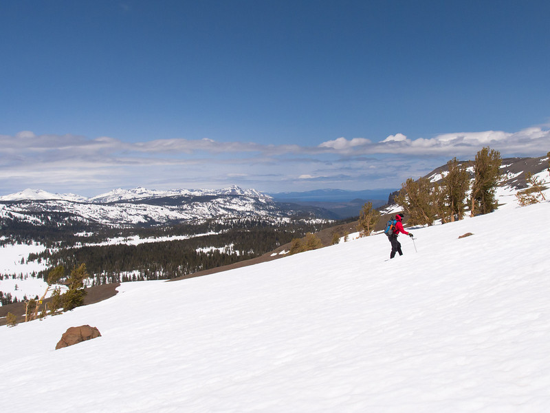 In sight of Tahoe