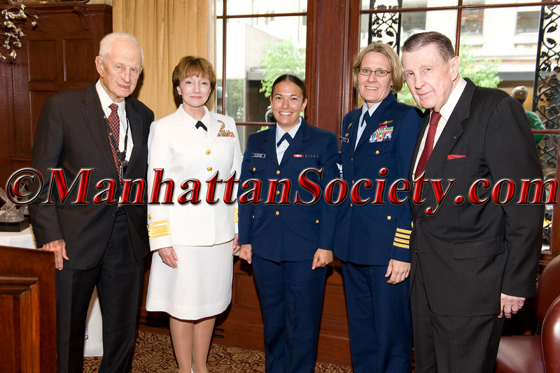 3rd Annual Soldiers', Sailors',Marines' Coast Guard & Airmen's Club, Red, White & Blue Luncheon on Monday, May 9, 2011 at The 21 Club, New York City, NY   PHOTO CREDIT: Copyright ©Manhattan Society.com 2011