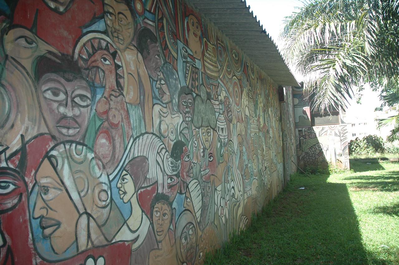 Pancho Guedes/Malangatana in Maputo - Leslie Rowley