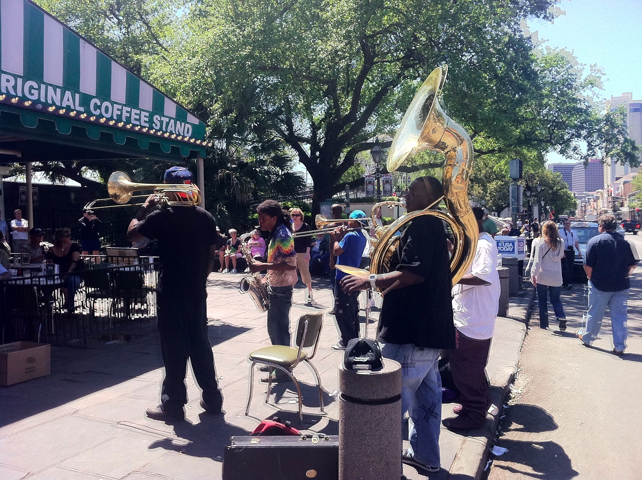 Jazz at Cafe Du Monde