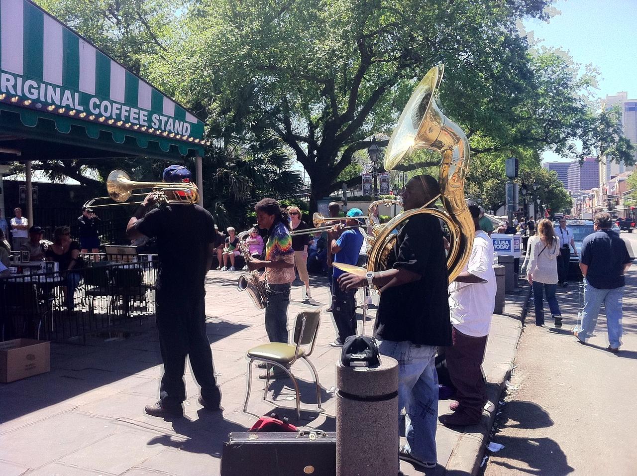 Jazz at Cafe Du Monde