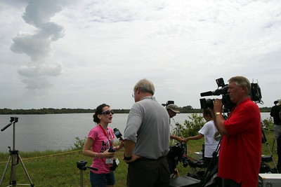 @KelleyApril shares her reaction (1:20) with Bill Capo of New Orleans CBS affiliate WWL-TV, immediately after the launch
