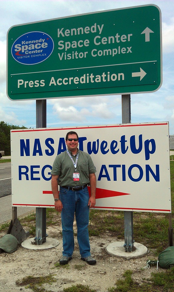 Checking in for the NASA Tweetup