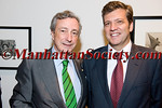 "Spanish Ambassador to the United States, H.E. Jorge Dezcallar,  Chairman Xavier Ruiz SPAIN-U.S. Chamber of Commerce attend ""Meet the Members"" on Thursday, April 28, 2011 at The Gabarron Foundation, 149 East 38th Street, New York, NY 10016-2604  PHOTO CREDIT: Copyright ©Manhattan Society.com 2011"