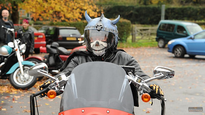 Spooky Ride Chislehurst Cave, 30 Oct 2011