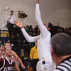 Newburgh Free Academy Goldback Jonte Rutty (12) drives to the basket against Kingston on Thursday, February 10, 2011 in Newburgh, NY. NFA defeated Kingston 80-64. Hudson Valley Press/CHUCK STEWART, JR.