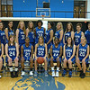 2010-11 Women's Basketball Team: (1st row) Carrie Berger, Marisa Maher, Shelly Paul, Kelsea Schuerman, Ebony Carther, Alyssa Becker, Charity VanDenBos; (2nd row) Assistant Coach Misty Brestel, Nicole Ashton, Lorena Medeiros, Sara Lincoln, Sandra McCord, Mayara Santos, Rachelle Tialavea, Ashley Miller, Paula Clendaniel, Brittanie Shaw, Assistant Coach Robert Fear, Head Coach Jen Spickelmier – not pictured Hayley Lloyd, Adiana Loya, Livia Medeiros, Jennifer Shadell, Jordan Veness
