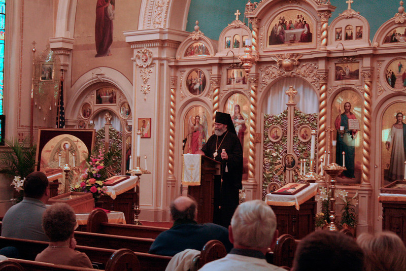 St. Alexis Vespers & Lecture 2011