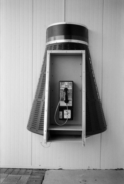 Payphone at Kennedy Space Center