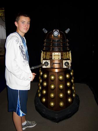 Dr Who Exhibit