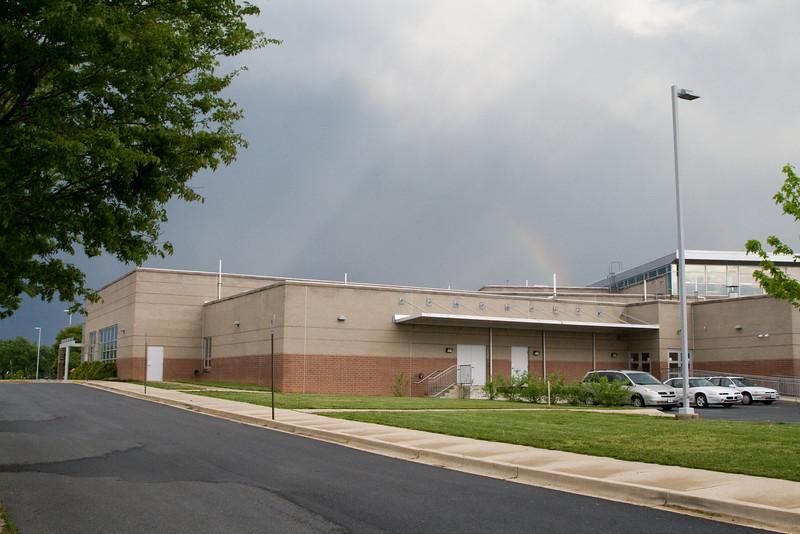 _MG_7282 Thomas Johnson Middle School rainbow