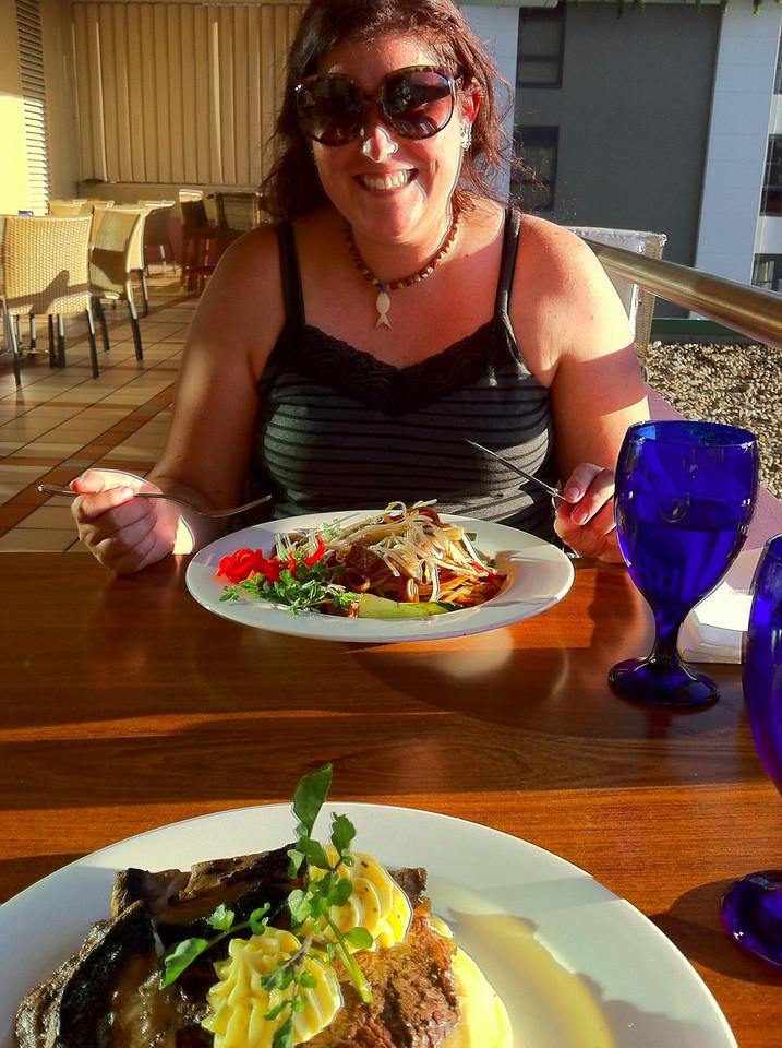 Dinner with Elinor