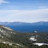 Tahoe Pines and lake