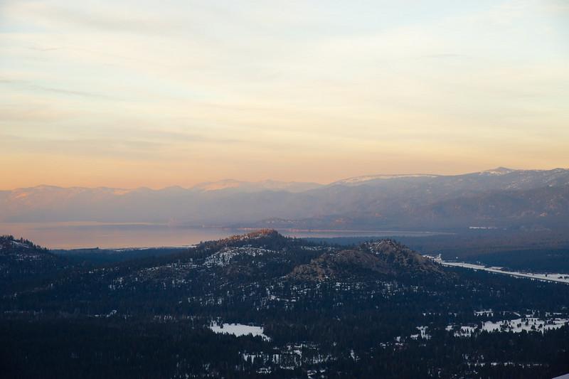 Sunset on South Lake Tahoe